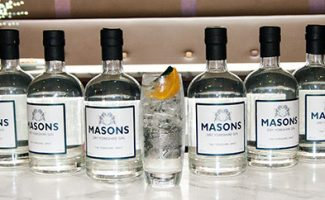 Picture of masons gin bottle