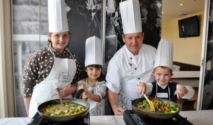 Kids Cooking with James