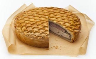 chicken ham layered pie